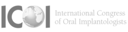 International Congress of Oral Implantologists - ICOI logo in gray