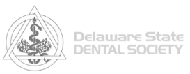 Delaware State Dental Society logo in gray